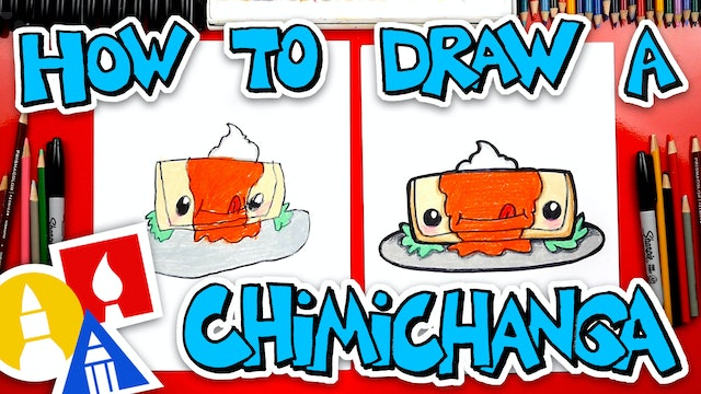 How To Draw Funny Chimichanga