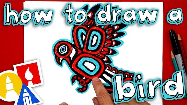 How To Draw A Bird Inspired By Native...
