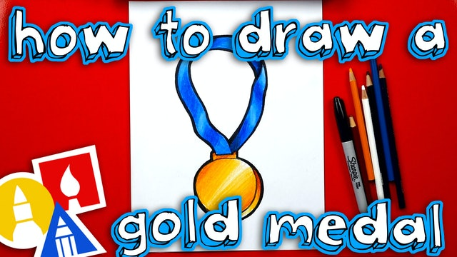 How To Draw A Gold Medal