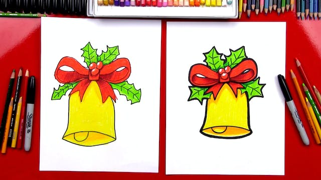 Member - How To Draw A Christmas Bell