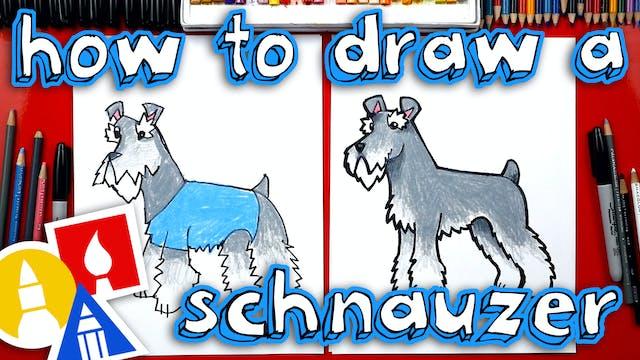 How To Draw A Schnauzer