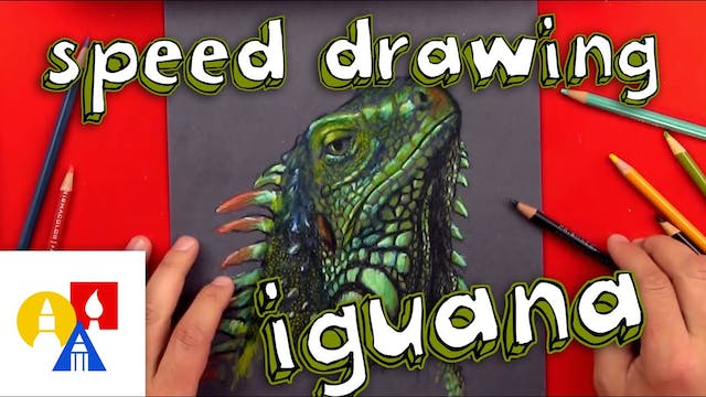 Drawing With Colored Pencils on Black...