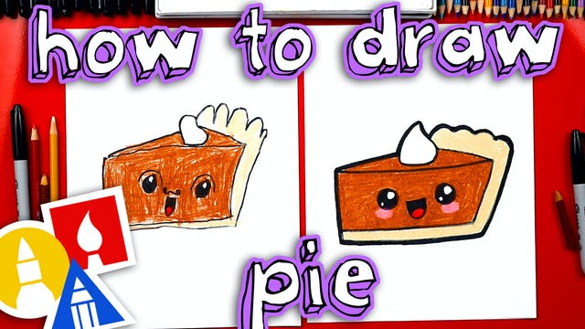 How To Draw A Funny Pumpkin Pie + SYA!