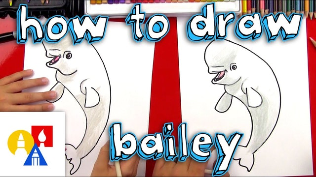 How To Draw Bailey From Finding Dory