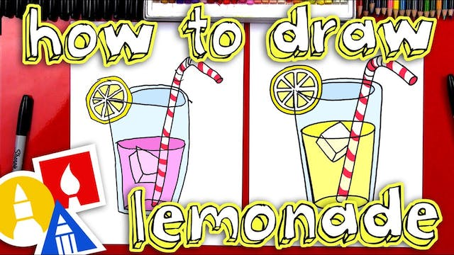 How To Draw Lemonade