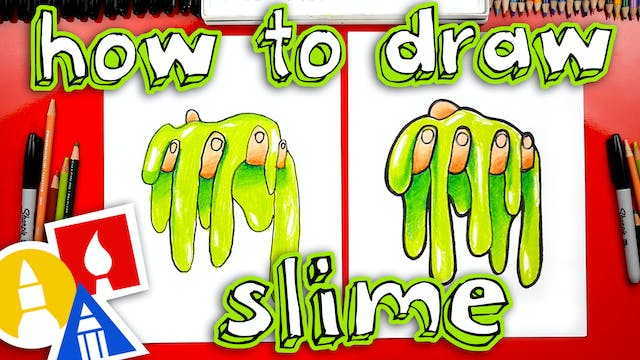 How To Draw Slime