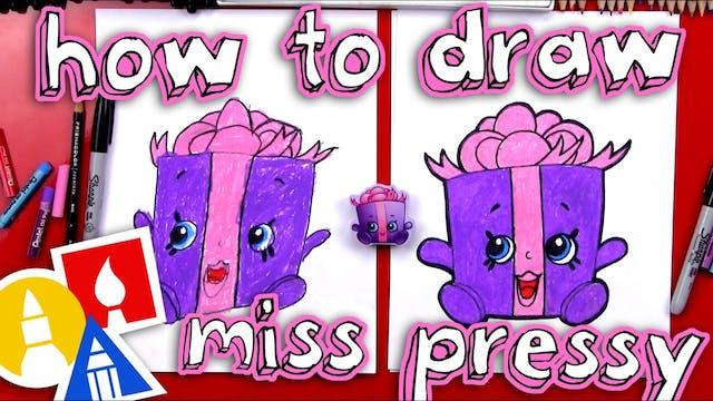 How To Draw Miss Pressy Shopkins