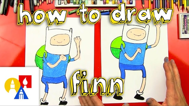 How To Draw Finn The Human