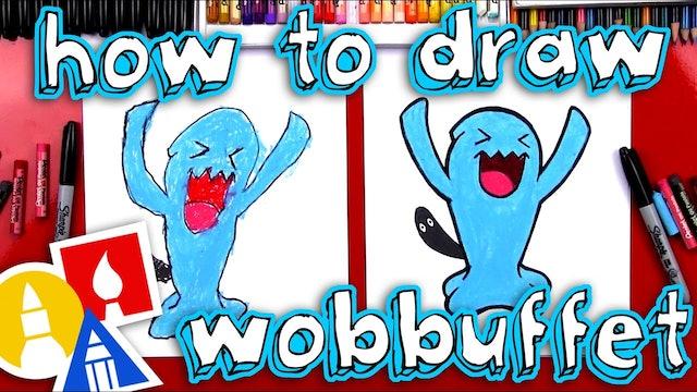 How To Draw Wobbuffet Pokemon