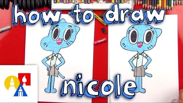 How To Draw Nicole Watterson