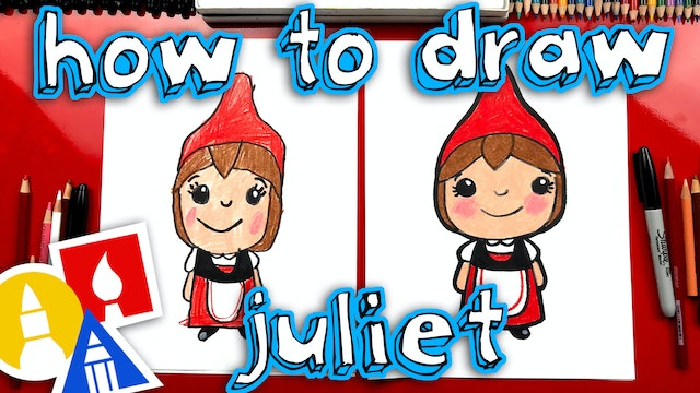 How To Draw Juliet From Sherlock Gnomes