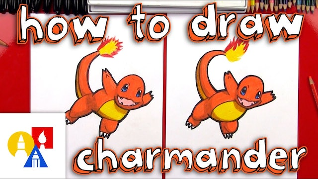 How To Draw Charmander Pokemon Giveaway