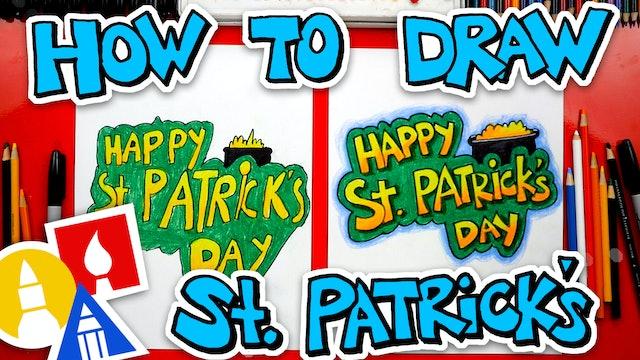 How To Draw St Patricks Day