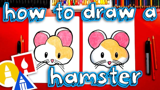 How To Draw The Cute Hamster Emoji
