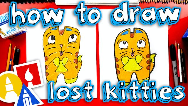 How To Draw Lost Kitties