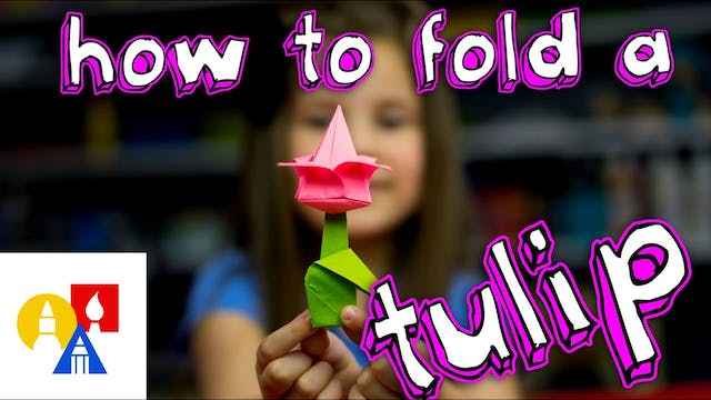 How To Fold A Tulip