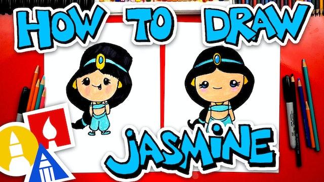 How To Draw Jasmine From Aladdin