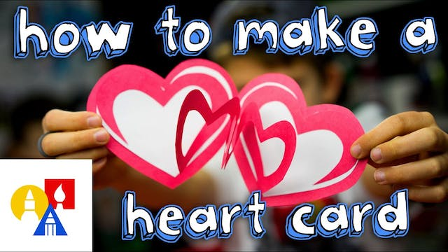 How To Make An Easy Valentine's Heart...