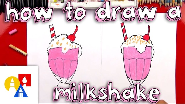 How To Draw A Milkshake