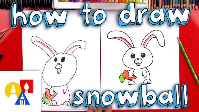 How To Draw Snowball From The Secret ...