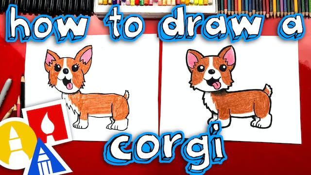 How To Draw A Corgi