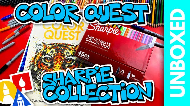 UNBOXED: Color Quest + Sharpie Ultima...