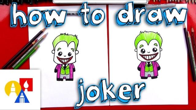 How To Draw Cartoon Joker