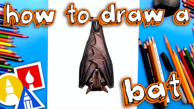 How To Draw A Realistic Bat