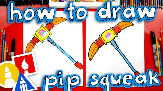 How To Draw Pip Squeak From Fortnite