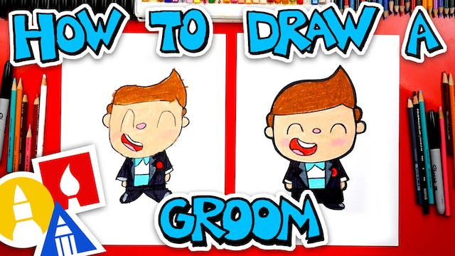 How To Draw A Groom