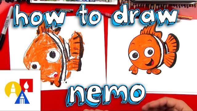 How To Draw Nemo