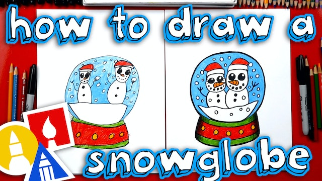 How To Draw A Snowglobe