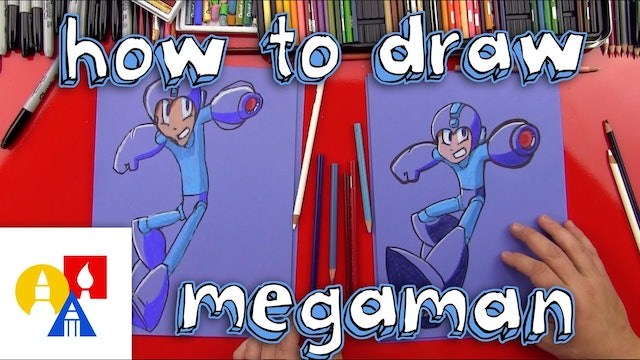 How To Draw Mega Man