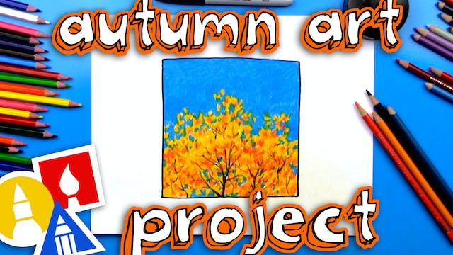 A Simple Autumn Art Project