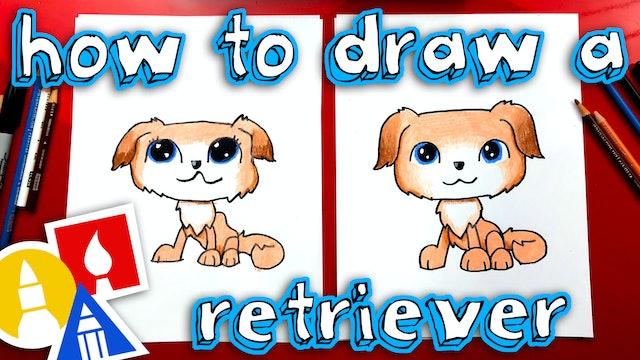 How To Draw Littlest Pet Shop - Golden Retriever