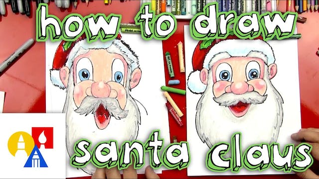 How To Draw Santa Clause Face