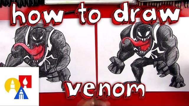 How To Draw Venom
