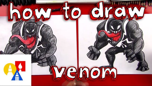 How To Draw Venom