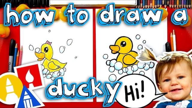 How To Draw A Rubber Ducky