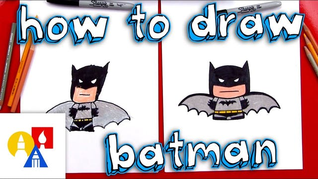 How To Draw Cartoon Batman