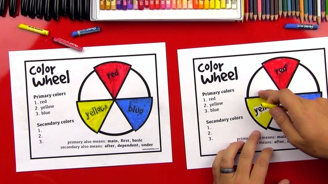 Elements Of Art - Lesson 3 - The Color Wheel - Primary and Secondary Colors