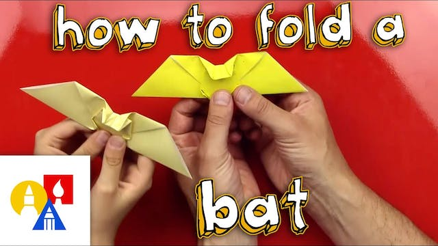 How To Fold An Origami Bat