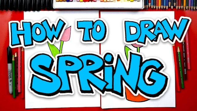 How To Draw Spring