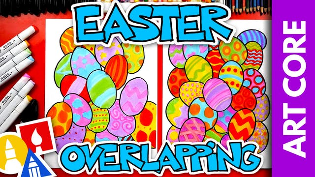 Art Core: Easter Overlapping