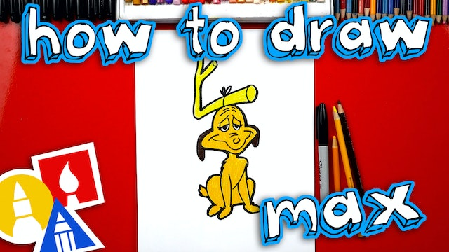 How To Draw Max From The Grinch