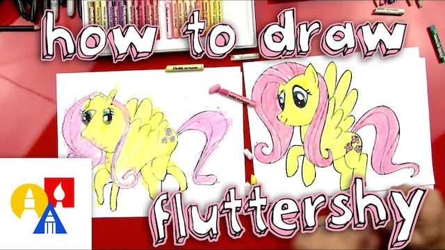 How To Draw Fluttershy From My Little Pony