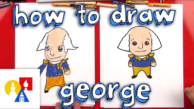 How To Draw A Cartoon George Washington