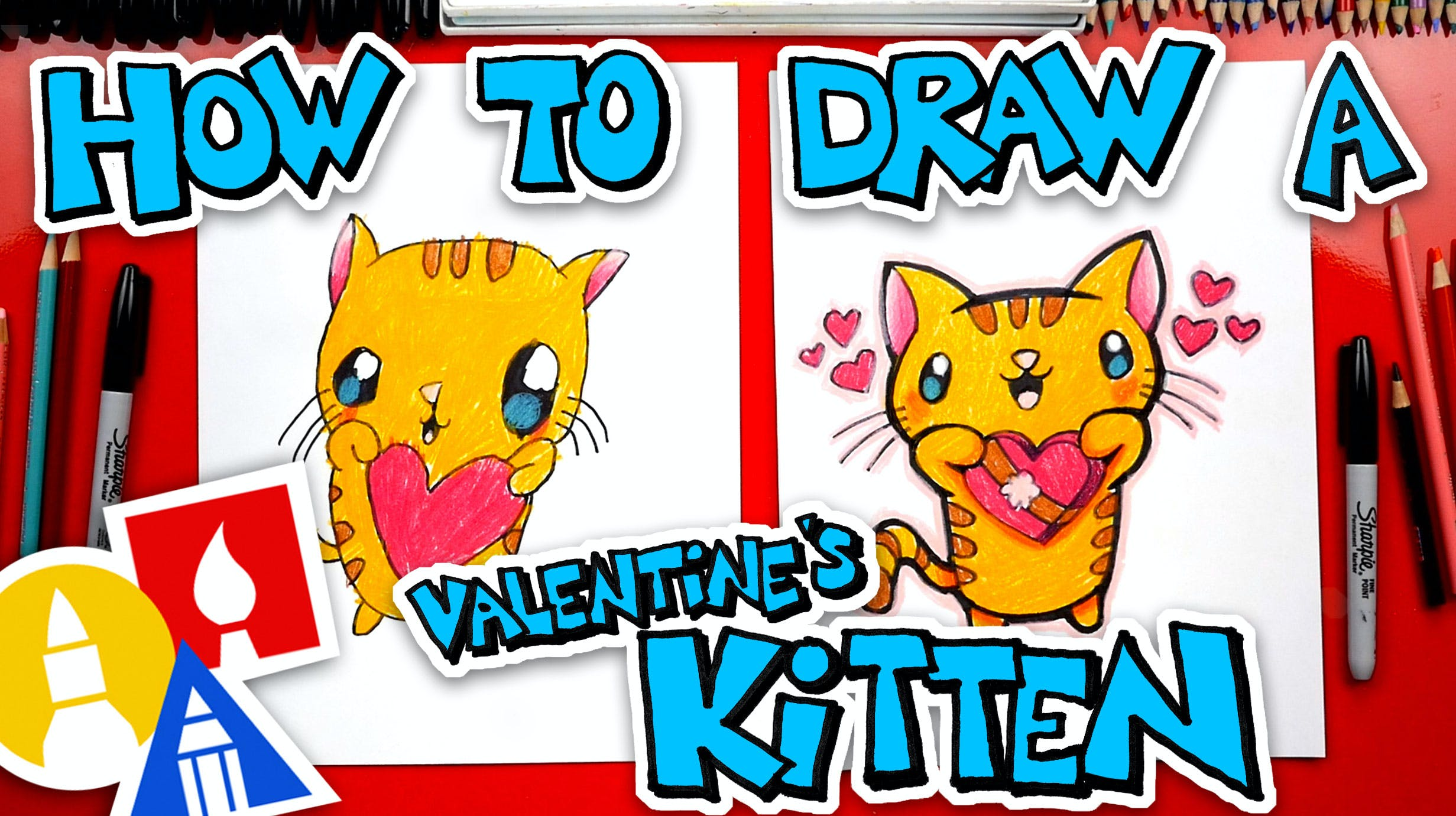 How To Draw Valentines Cupid Folding Surprise Valentine S Day