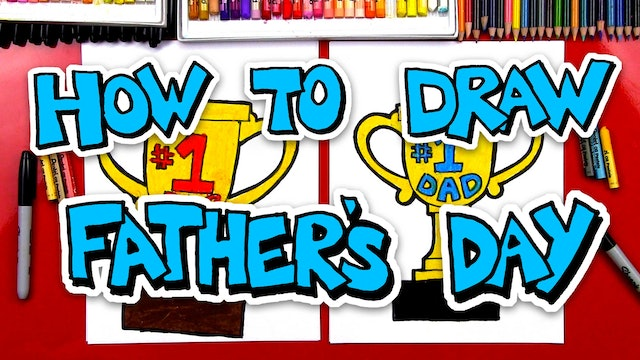How To Draw Father's Day