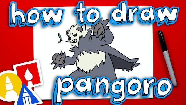 How To Draw Pokemon Pangoro
